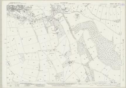 Somerset LXXIII.3 (includes: Charlton Mackrell; Kingsdon; Somerton) - 25 Inch Map