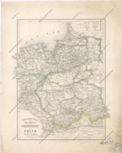Uebersichts Karte von Ost und West Preussen und Polen