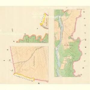 Gross Heilendorf (Hruby Postromow) - m2383-1-001 - Kaiserpflichtexemplar der Landkarten des stabilen Katasters