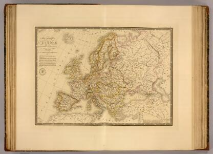 Europe en 1789.