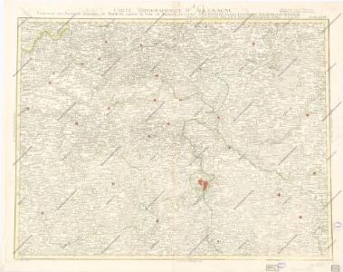 Carte Topographique D ́Allemagne