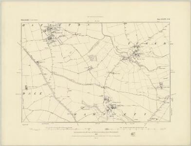 Gloucestershire XXXVI.SW - OS Six-Inch Map