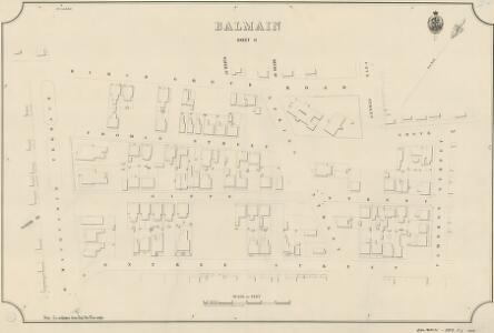 Balmain, Sheet 11, 1889