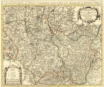 Civitas Leucorum sive Pagus Tullensis aujourdhui le Diocese de Toul Pour servier a l'Histoire de ce Diocese