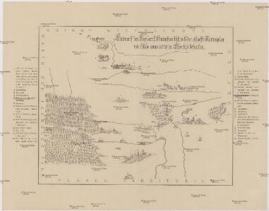 Entwurff der freyherrl. Haimhausischen Herrshafft Kuttenplan wie solche anno 1676 in Esse sich befunden