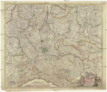 Belli typvs in Itallia, victricis aquilae progreßus in statv Mediolanensi et dvcatv Mantvae demonstrants