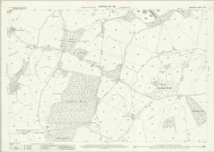 Berkshire XLII.7 (includes: Enborne; Hampstead Marshall) - 25 Inch Map