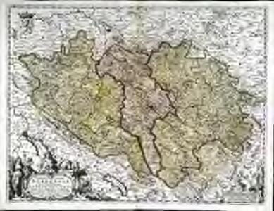 Comitatus sive Liberæ Burgundiæ nova tabula, vulgo dicta la Franche Comté