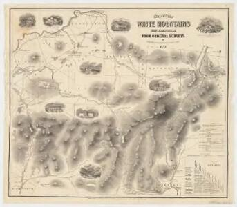 Map of the White Mountains, New Hampshire : from original surveys