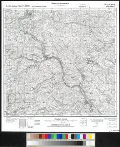 Meßtischblatt 4817 : Hallenberg, 1945