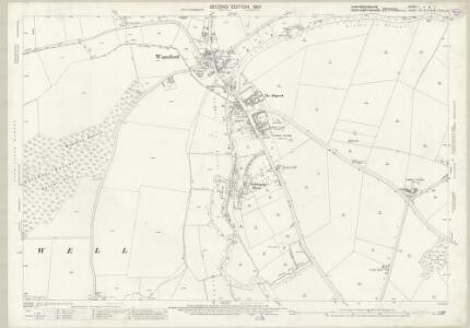 Huntingdonshire I.11 & 7 (includes: Sibson cum Stibbington; Southorpe; Sutton; Thornhaugh; Wansford; Yarwell) - 25 Inch Map