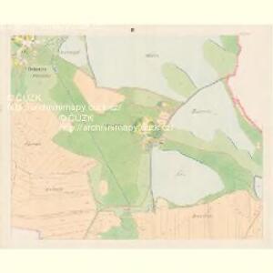 Zbudau - c9193-1-004 - Kaiserpflichtexemplar der Landkarten des stabilen Katasters