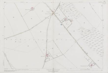 Wiltshire XVI.15 (includes: Bishopstone; Liddington; Wanborough) - 25 Inch Map