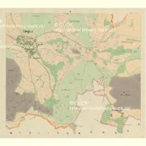 Hegna - c1806-1-002 - Kaiserpflichtexemplar der Landkarten des stabilen Katasters