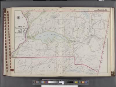 Westchester, V. 2, Double Page Plate No. 43 [Map bounded by Putnam County, State of Connecticut, Lewisboto, Somers]