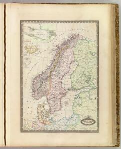 Suede, Norvege, Danemark.