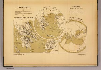 Geographie des temps heroiques de la Grece; Homere, Hesiode les argonautes.