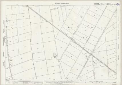 Lincolnshire CLIV.6 (includes: Parson Drove; Sutton St Edmund) - 25 Inch Map