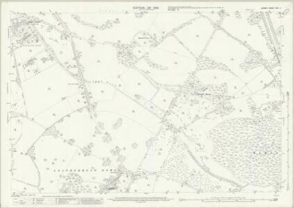 Surrey XXV.4 (includes: Headley; Leatherhead) - 25 Inch Map