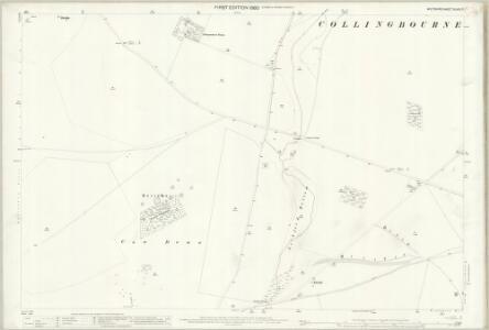 Wiltshire XLVIII.7 (includes: Collingbourne Ducis; Collingbourne Kingston; Ludgershall; North Tidworth) - 25 Inch Map