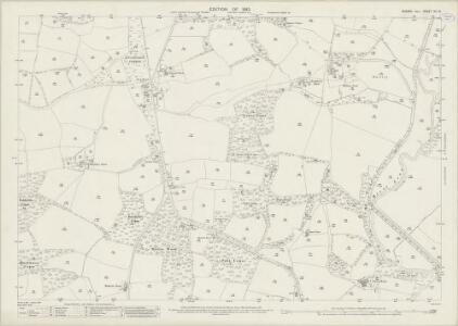 Sussex XII.15 (includes: Loxwood; Wisborough Green) - 25 Inch Map