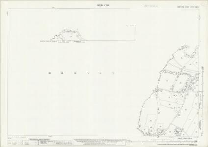 Hampshire and Isle of Wight LXXVII.15 & 12 (includes: Hampreston; Poole) - 25 Inch Map