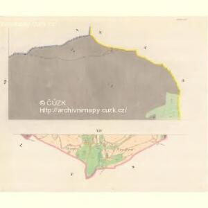 Kunzendorf (Kunczicze) - m1423-1-006 - Kaiserpflichtexemplar der Landkarten des stabilen Katasters