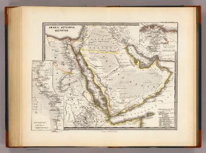 Arabia, Aethiopia, Aegyptus.