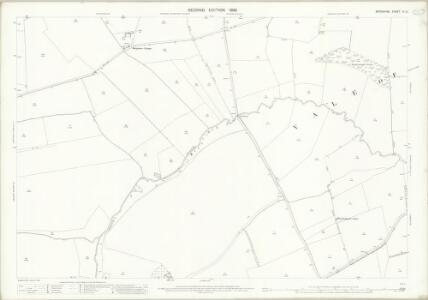 Berkshire IX.10 (includes: Charney Bassett; Draycot Moor; Fyfield; Garford; Kingston Bagpuize; Longworth; Lyford) - 25 Inch Map
