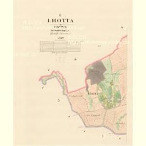 Lhotta - m1521-1-002 - Kaiserpflichtexemplar der Landkarten des stabilen Katasters