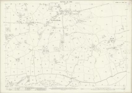 Sussex LIX.1 (includes: Fairlight; Guestling; Icklesham; Pett) - 25 Inch Map