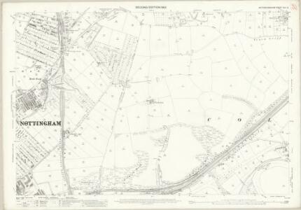 Nottinghamshire XLII.3 (includes: Carlton; Holme Pierrepont; Nottingham) - 25 Inch Map