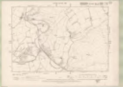 Roxburghshire Sheet III.NW - OS 6 Inch map