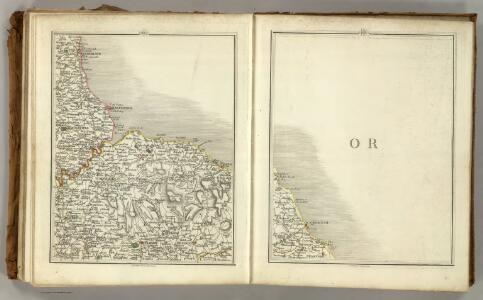 Sheets 60-61.  (Cary's England, Wales, and Scotland).