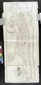 Map of the city and county of New York : with the adjacent country / by David H. Burr.