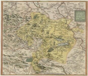 Mansfeldiae Comitatvs descriptio auctore Tilemanno Stella Sig.