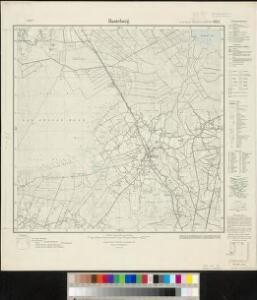 Meßtischblatt 1877 : Hunteburg, 1936