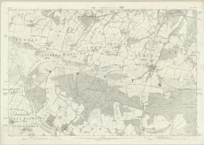 Sussex XXXIV - OS Six-Inch Map
