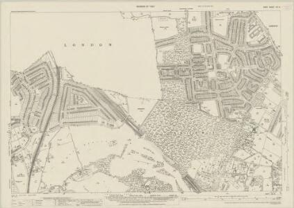 Kent VIII.9 (includes: Bromley; Chislehurst and Sidcup; Lewisham) - 25 Inch Map