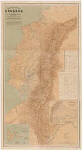 Carta geográfica del Ecuador
