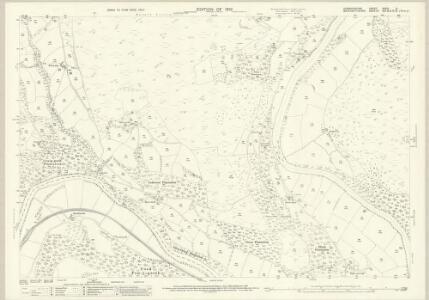 Denbighshire XXXIV.9 (includes: Corwen; Llangollen Rural; Llantysilio) - 25 Inch Map