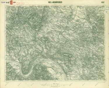 III. vojenské mapování 4862