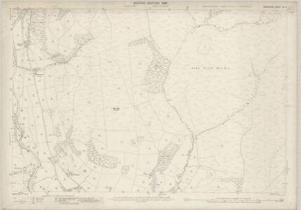 Derbyshire VII.6 (includes: Derwent; Hope Woodlands) - 25 Inch Map