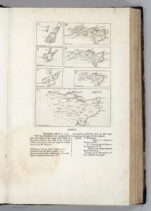 Facsimiles:  Historic Maps of Islands: Isla (Islay; Ila), Surrey, and Kent].