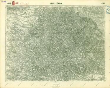 III. vojenské mapování 4365
