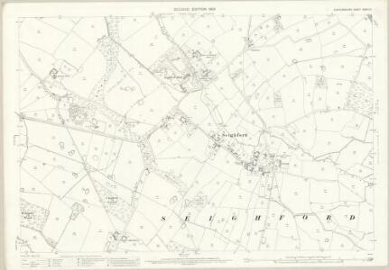 Staffordshire XXXVII.5 (includes: Ranton; Seighford) - 25 Inch Map
