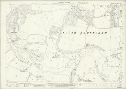 Sussex XXII.13 (includes: Easebourne; South Ambersham) - 25 Inch Map