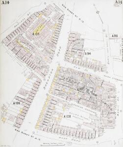 Insurance Plan of London Western District Vol. A: sheet 14