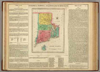 Map Of Rhode Island.