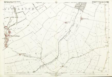 Gloucestershire LXXIII.12 (includes: Marshfield; Nettleton; Tormarton) - 25 Inch Map